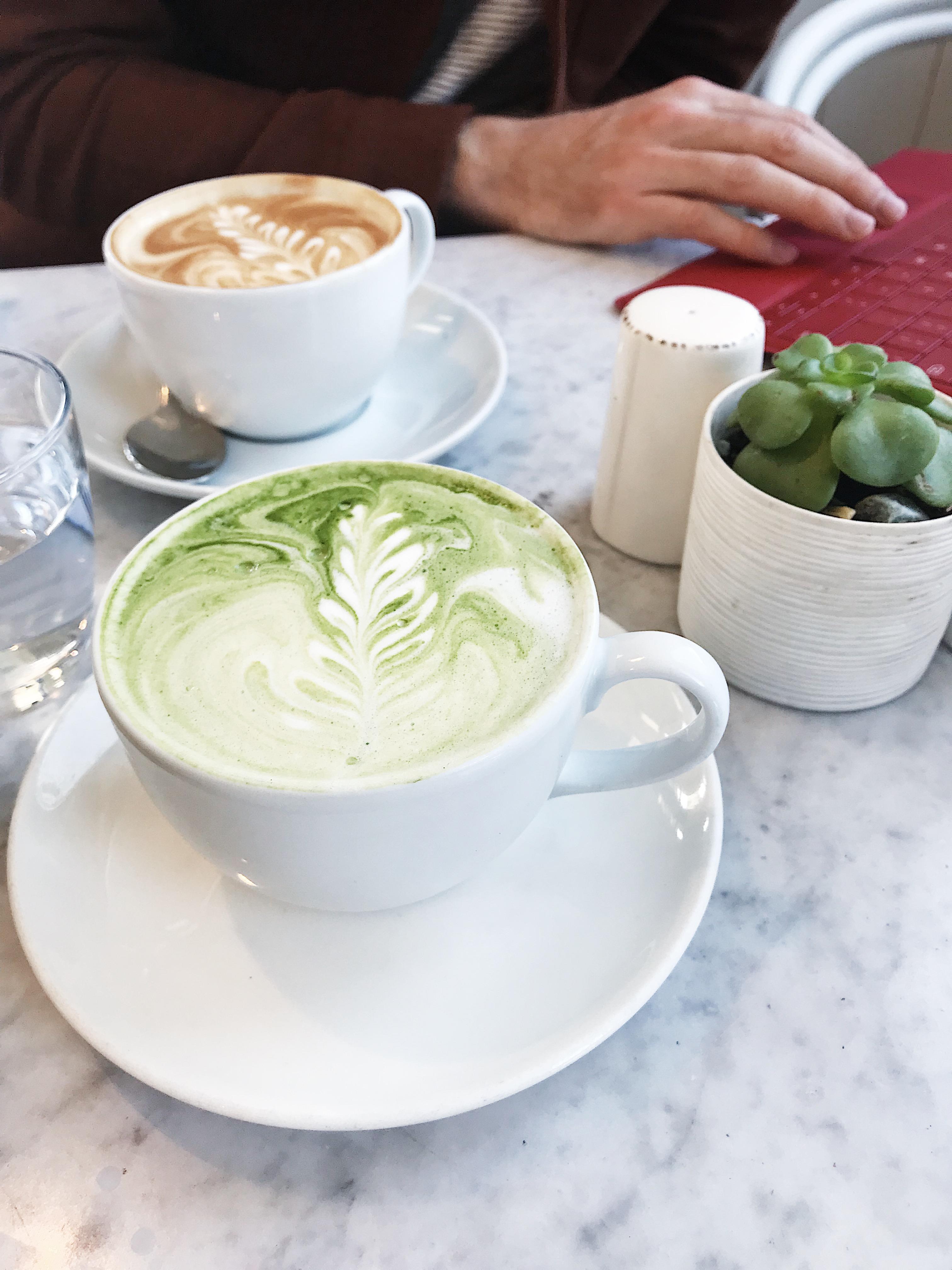 dairy-free latte plant-based food