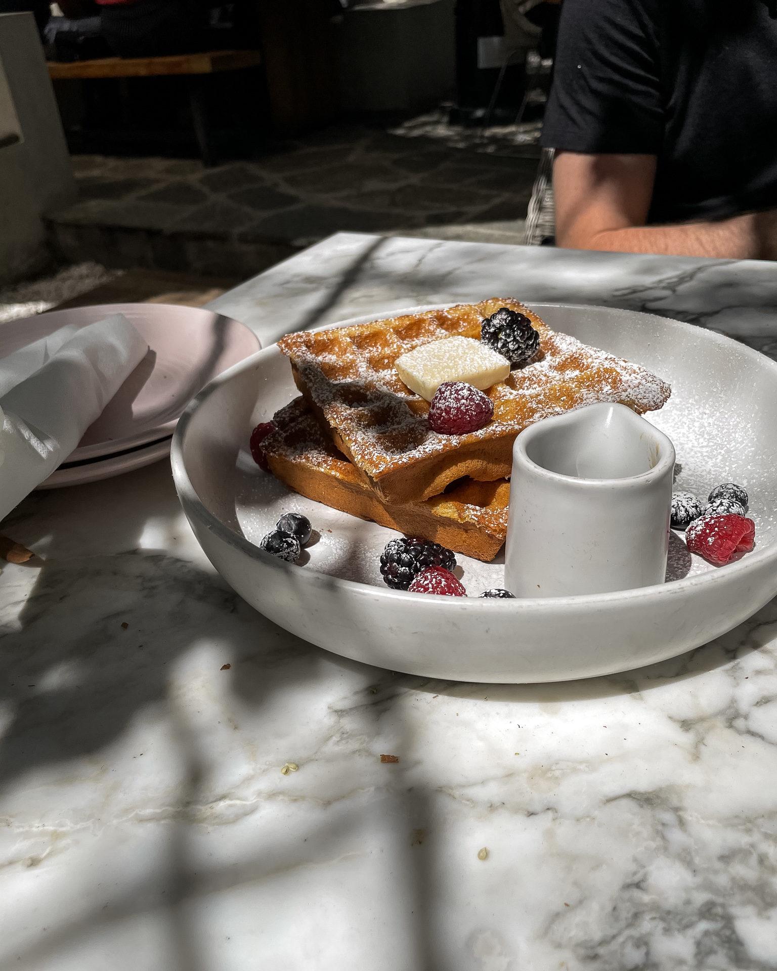 plant-based gluten-free vegan waffles plant food and wine