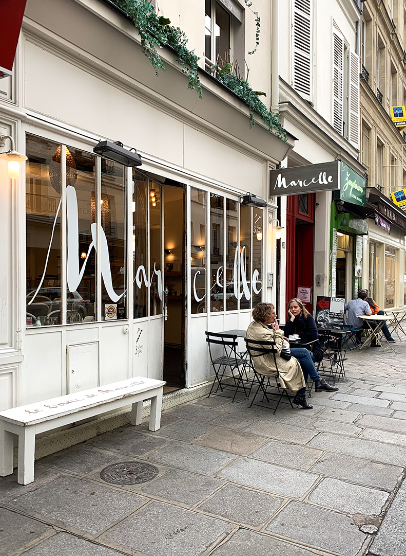 Paris travel guide Marselles dairy free cafe