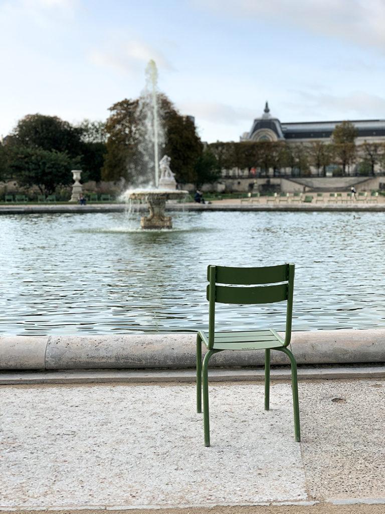 jardin des tuileries in Paris tuileries garden