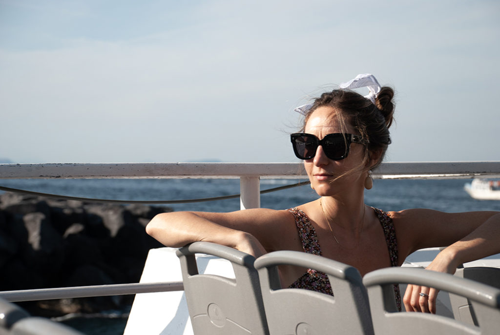 ferry from Ischia to Capri