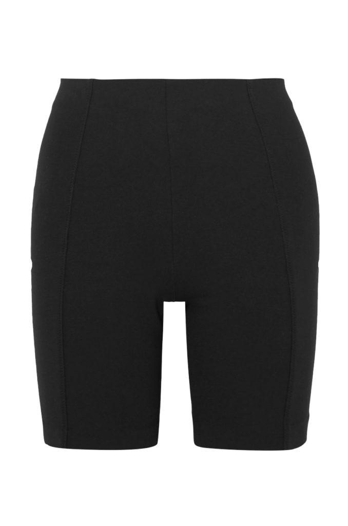 ninety percent net-a-porter black bike short