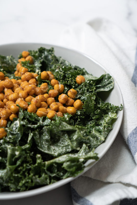 gluten-free vegan roasted chickpeas